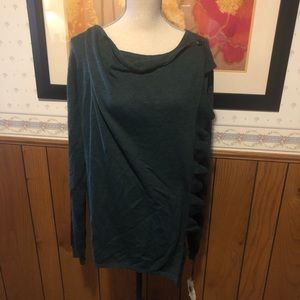 Knox Rose Hunter Green Sweater size XXL